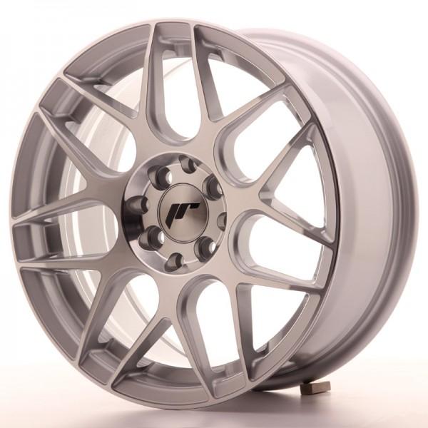 JR Wheels JR18 16x7 ET25 4x100/108 Silver Machined Face