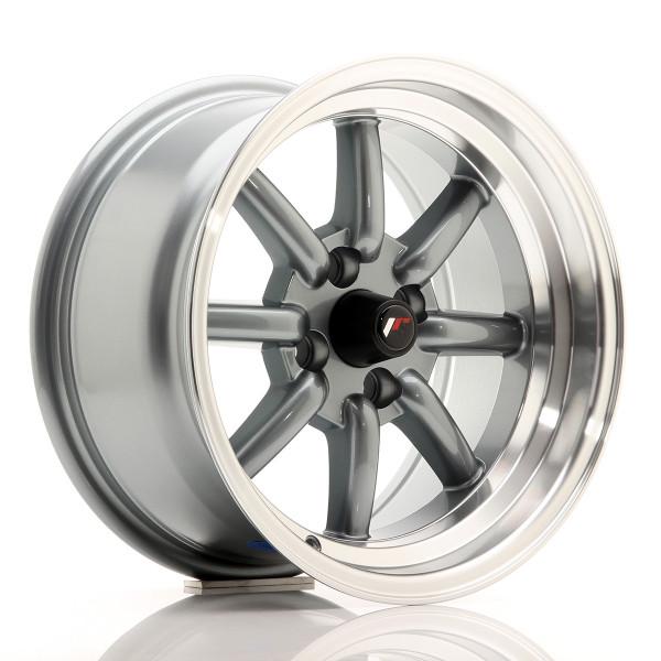 JR Wheels JR19 15x8 ET0 4x100/108 Gun Metal
