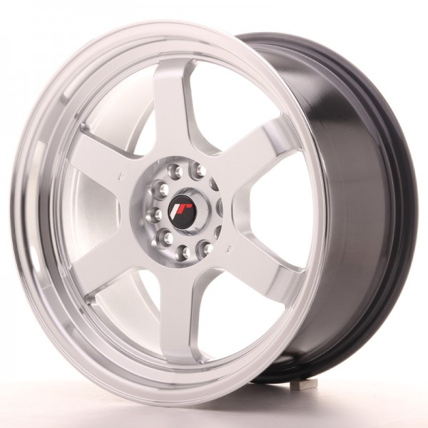 Japan Racing JR12 18x9 ET30 5x100/120 Hyper Silver
