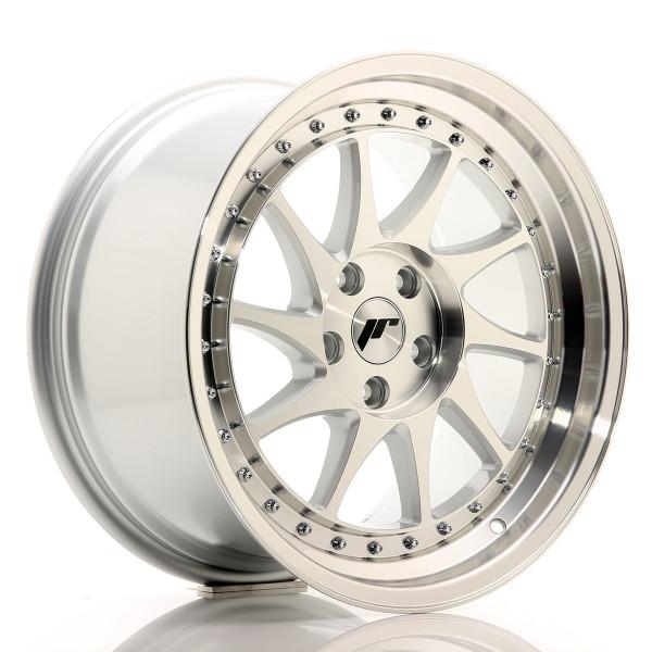 JR Wheels JR26 18x9,5 ET35 5x120 Silver Machined Face