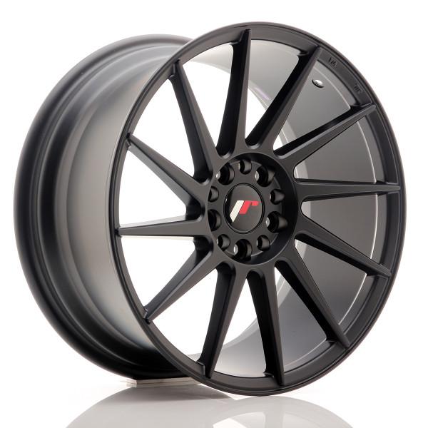 JR Wheels JR22 18x8,5 ET40 5x112/114 Matt Black