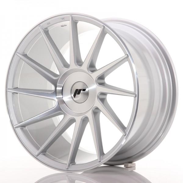 JR Wheels JR22 18x9,5 ET20-40 BLANK Silver Mach