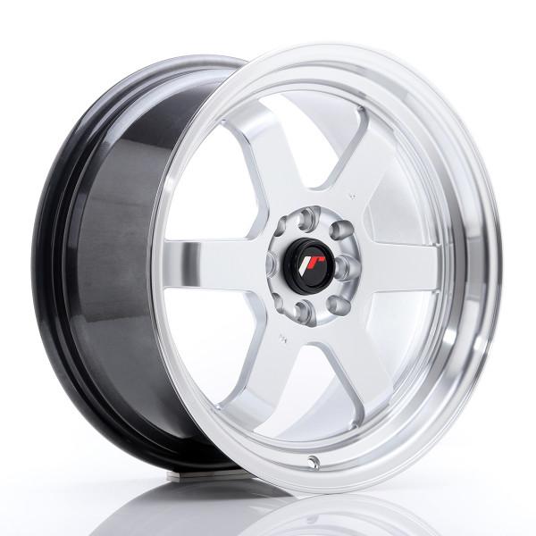 JR Wheels JR12 17x8 ET33 5x100/114 Hyper Silver w/Machined Lip