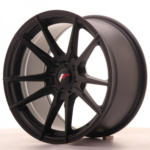 Japan Racing JR21 17x9 ET35 5x100/114 Matt Black