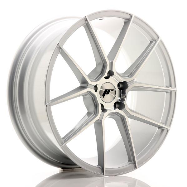 JR Wheels JR30 20x8,5 ET40 5x112 Silver Machined Face