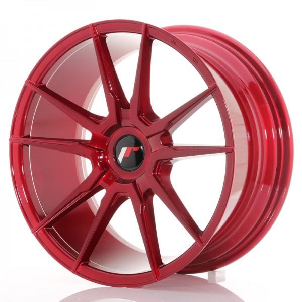 JR Wheels JR21 18x8,5 ET30-40 BLANK Platinum Red