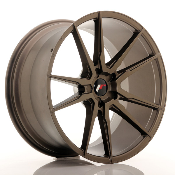 JR Wheels JR21 21x11 ET15-55 5H BLANK Matt Bronze