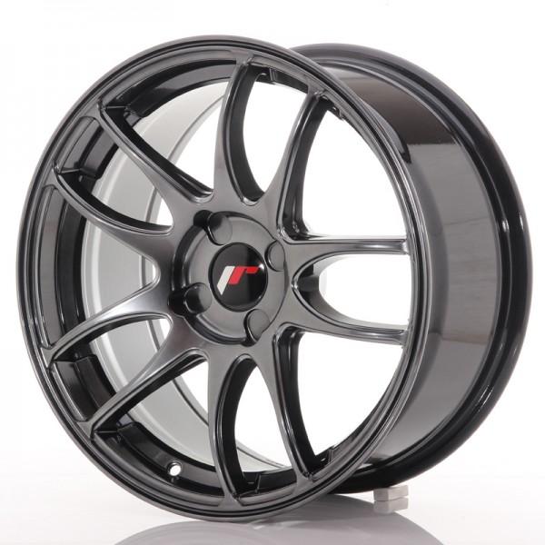 JR Wheels JR29 17x8 ET20-38 4H BLANK Hyper Black
