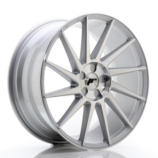 JR Wheels JR22 19x8,5 ET35-43 5H BLANK Silver Machined Face