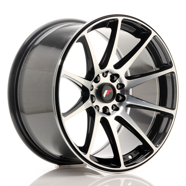 JR Wheels JR11 18x9,5 ET22 5x114/120 Gloss Black Machined Face