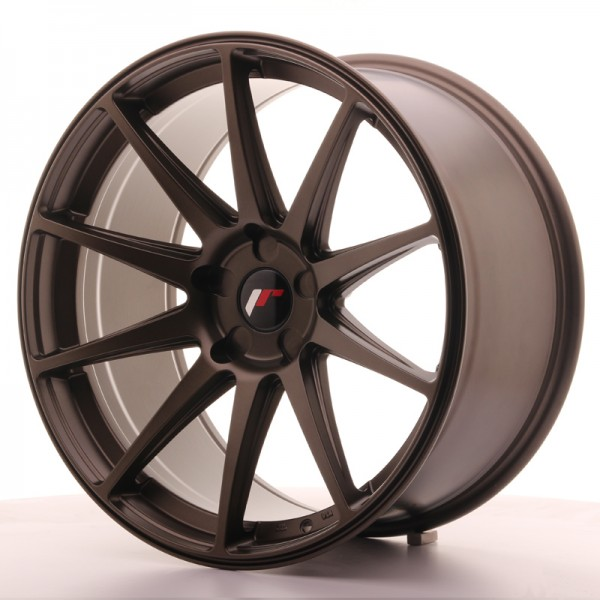JR Wheels JR11 20x10 ET40 5H BLANK Matt Bronze