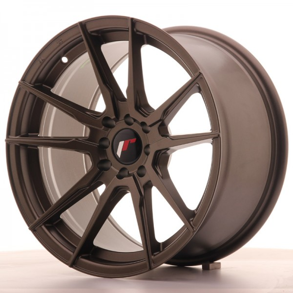 Japan Racing JR21 17x9 ET35 5x100/114 Matt Bronze