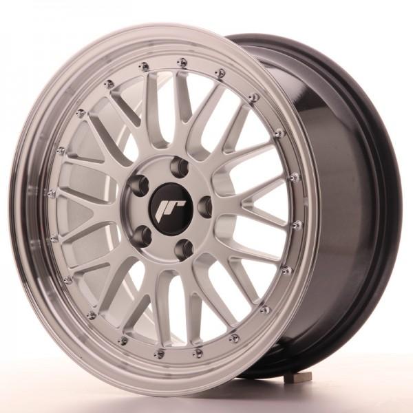 JR Wheels JR23 17x8 ET20 5x120 Hyper Silver w/Machined Lip