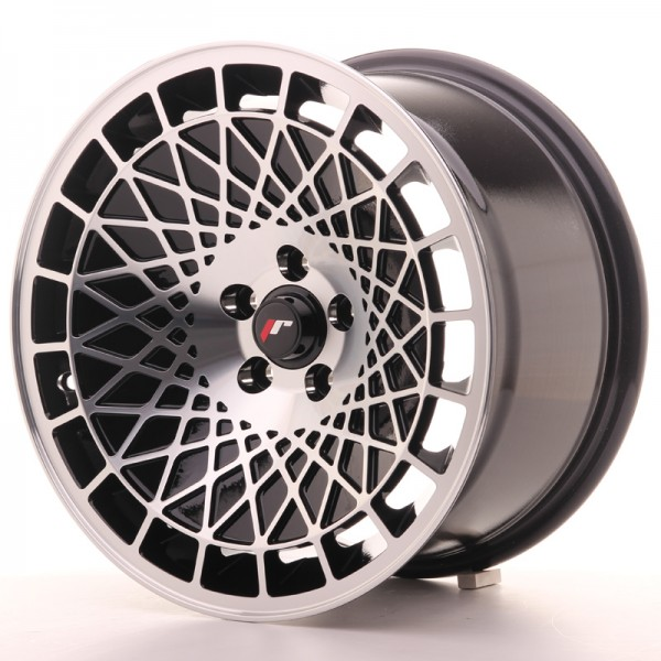 Japan Racing JR14 16x9 ET20 5x100 Black Machined