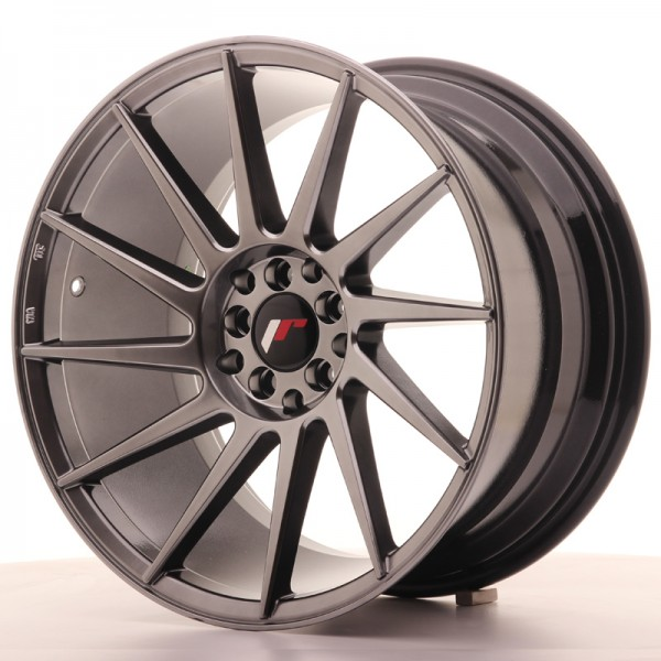 Japan Racing JR22 18x9,5 ET40 5x112/114 Hyper Blac