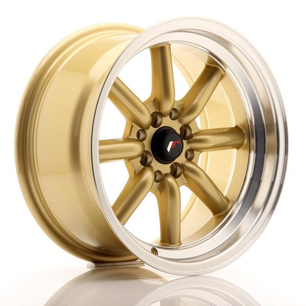 JR Wheels JR19 16x8 ET0 4x100/114 Gold