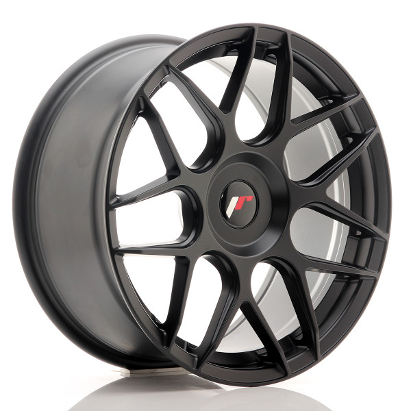 JR Wheels JR18 18x8,5 ET35-45 BLANK Matt Black