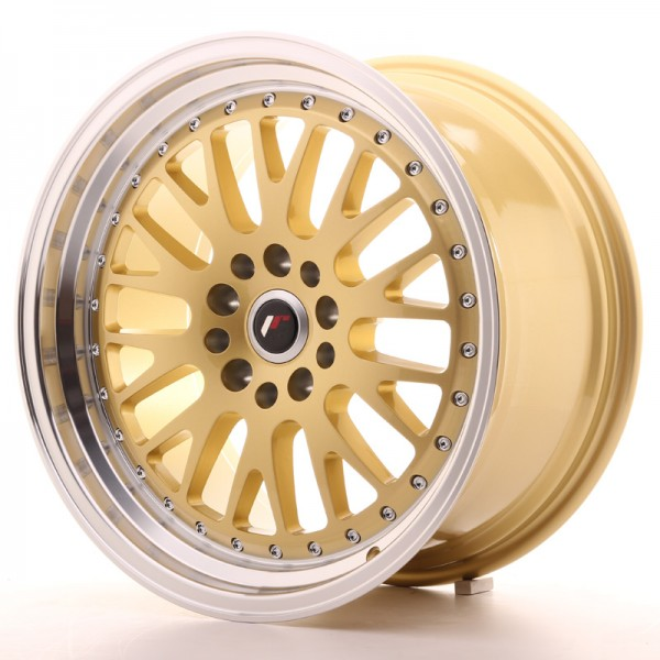 JR Wheels JR10 18x9,5 ET40 5x112/114 Gold w/Machined Lip