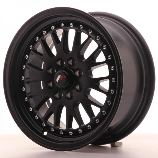 JR Wheels JR10 15x7 ET30 4x100/108 Matt Black