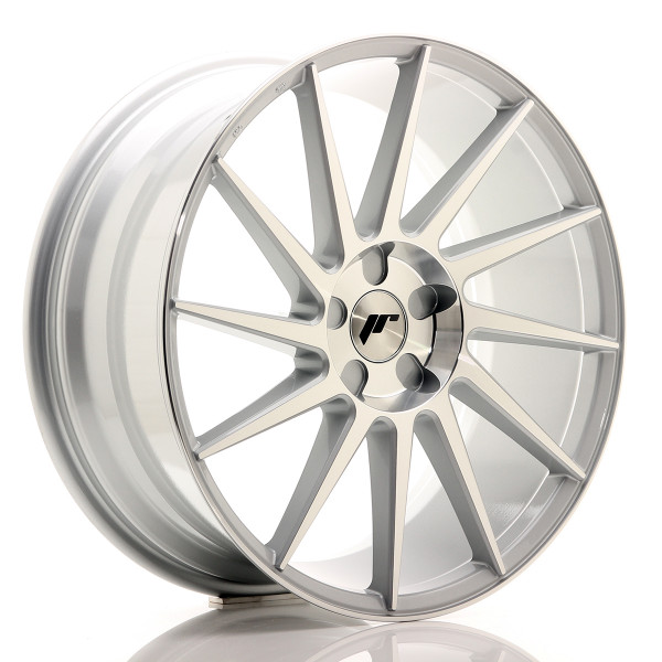 JR Wheels JR22 20x8,5 ET20-40 5H BLANK Silver Machined Face