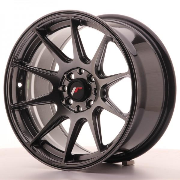 JR Wheels JR11 16x8 ET25 4x100/108 Dark Hyper Black