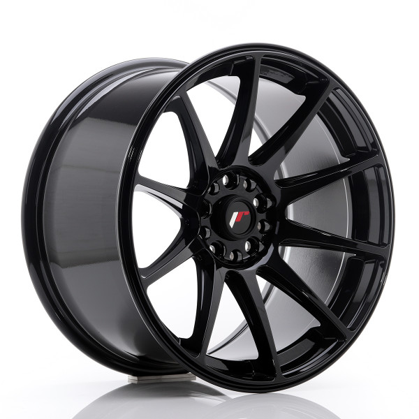 JR Wheels JR11 18x9,5 ET30 5x100/108 Glossy Black