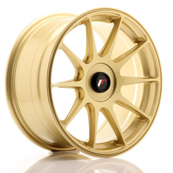 JR Wheels JR11 17x8,25 ET35 Blank Gold