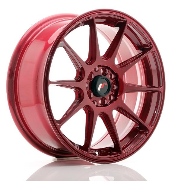 JR Wheels JR11 17x7,25 ET35 5x100/114,3 Platinum Red