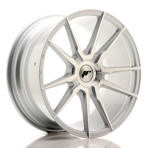JR Wheels JR21 18x8,5 ET20-40 BLANK Silver Mach