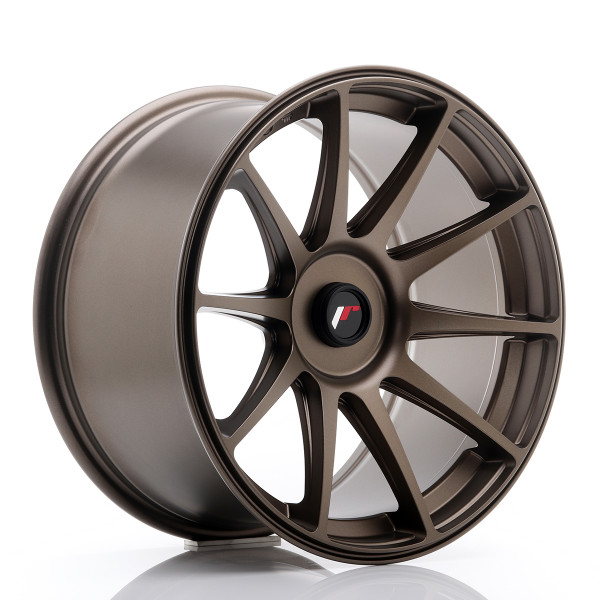 JR Wheels JR11 18x9,5 ET20-30 BLANK Dark Bronze