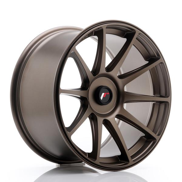 JR Wheels JR11 18x9,5 ET20-30 Blank Dark Bronze