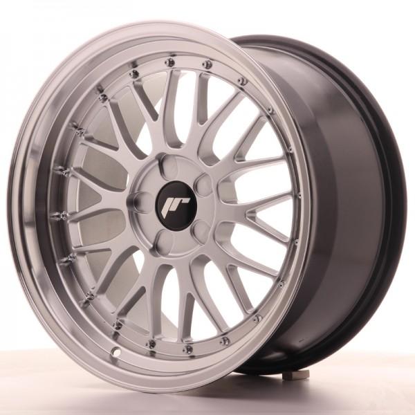 JR Wheels JR23 18x9,5 ET25-48 5H BLANK Hyper Silver w/Machined Lip