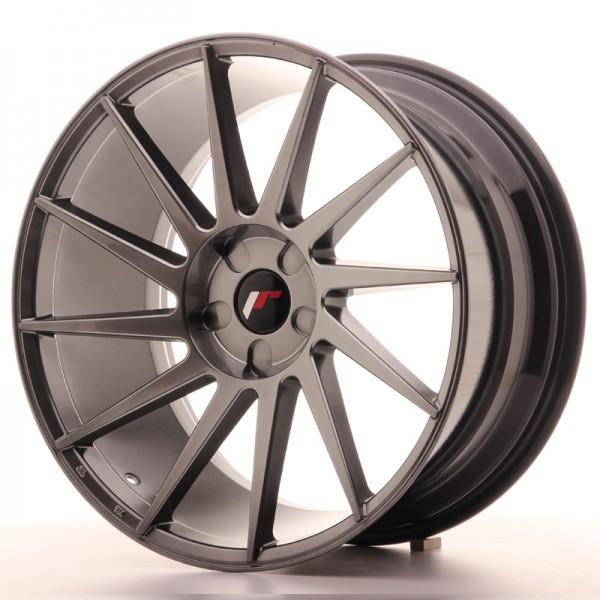 JR Wheels JR22 20x10 ET20-40 5H BLANK Hyper Black