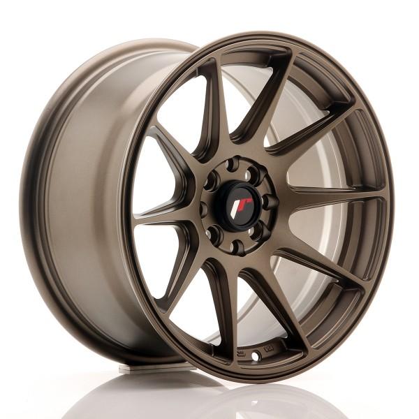 JR Wheels JR11 16x8 ET25 4x100/108 Matt Bronze