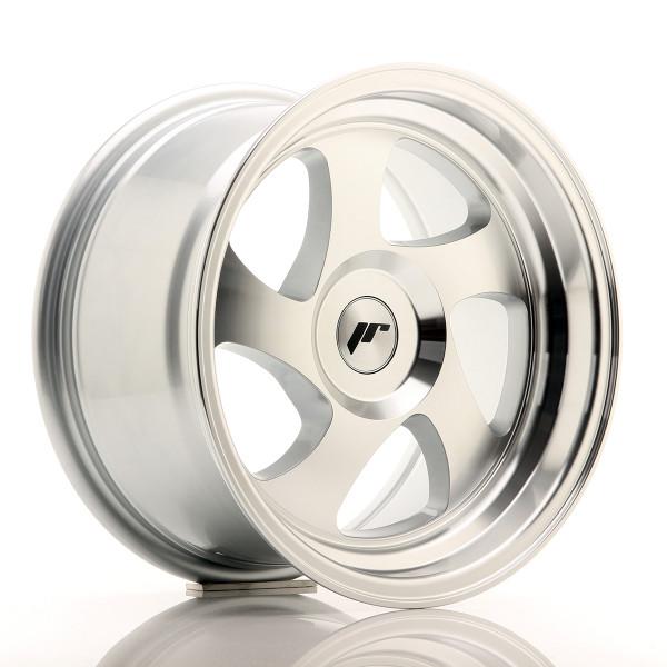 JR Wheels JR15 15x8 ET20 BLANK Silver Machined Face
