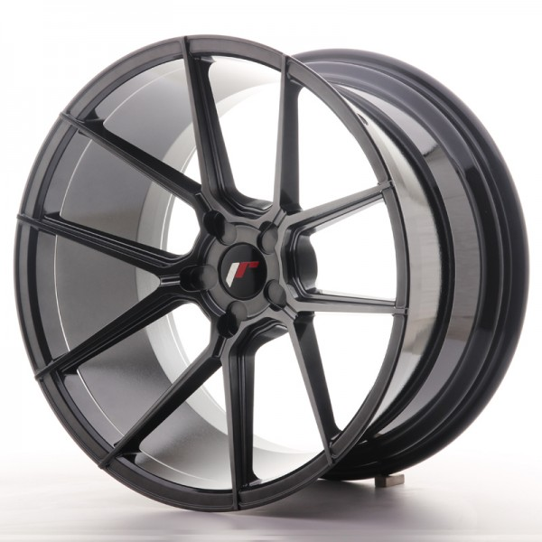 JR Wheels JR30 20x11 ET20-30 5H BLANK Hyper Black