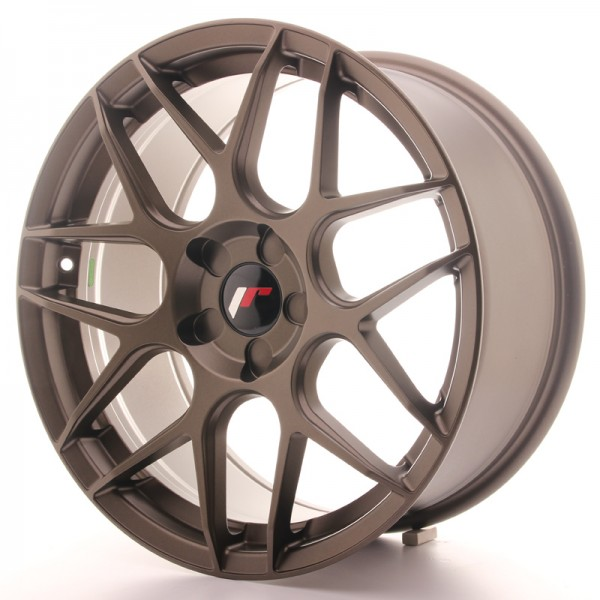 Japan Racing JR18 18x8,5 ET35-45 5H Blank Matt Bro
