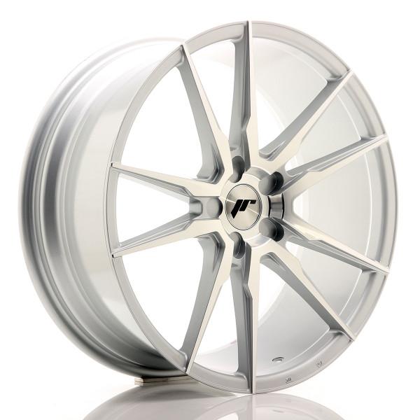 JR Wheels JR21 20x8,5 ET40 5H BLANK Silver Machined Face