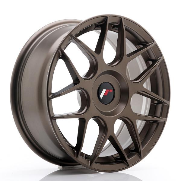 JR Wheels JR18 17x7 ET20-40 BLANK Matt Bronze