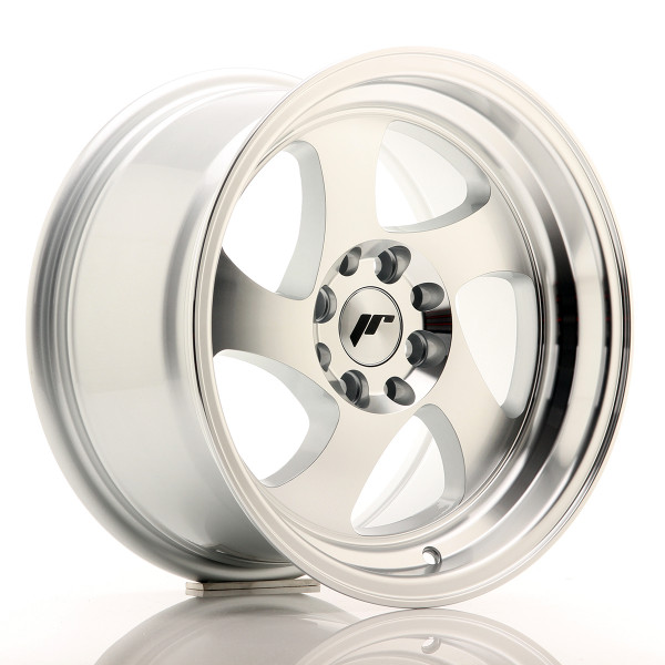 JR Wheels JR15 15x8 ET20 4x100/108 Silver Machined Face