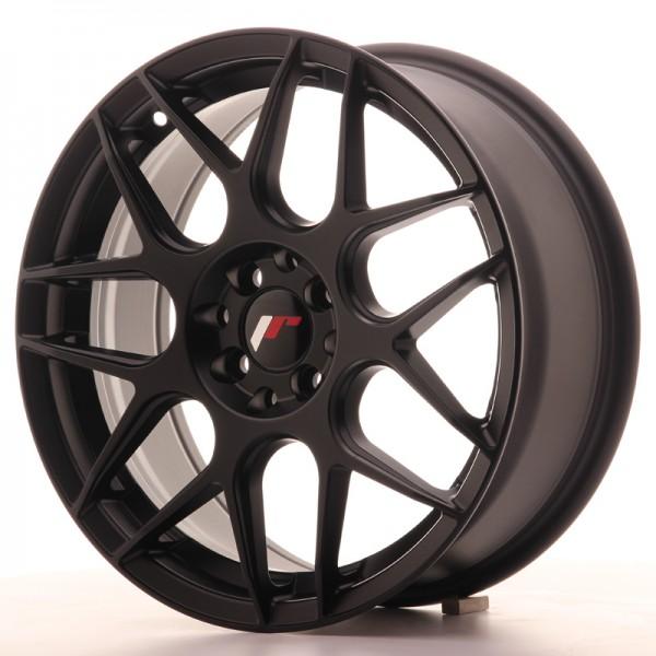 JR Wheels JR18 17x7 ET40 4x100/108 Matt Black