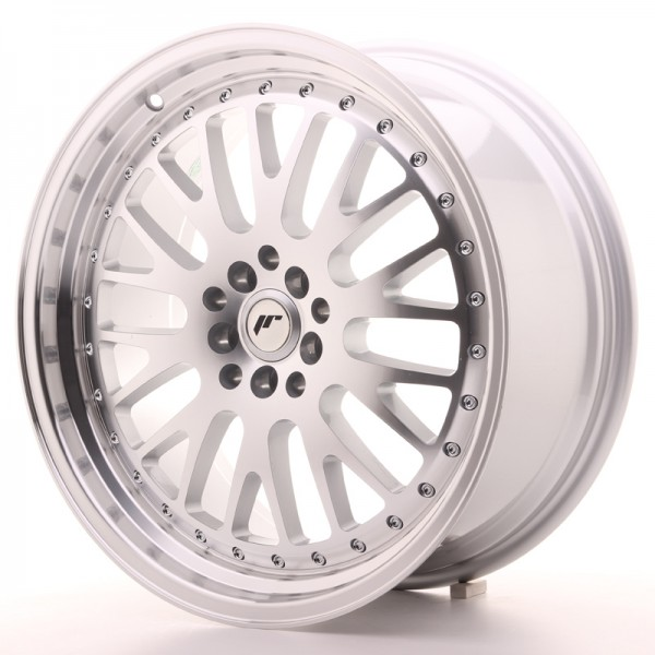 JR Wheels JR10 19x8,5 ET35 5x112/114 Silver Machined Face