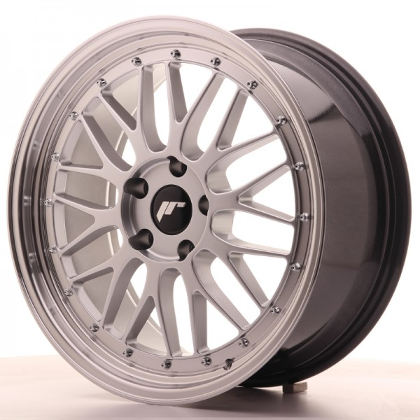 JR Wheels JR23 19x8,5 ET35 5x120 Hyper Silver w/Machined Lip
