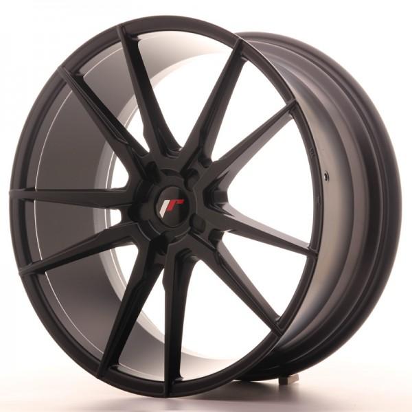 JR Wheels JR21 22x9,5 ET30-48 5H BLANK Matt Black