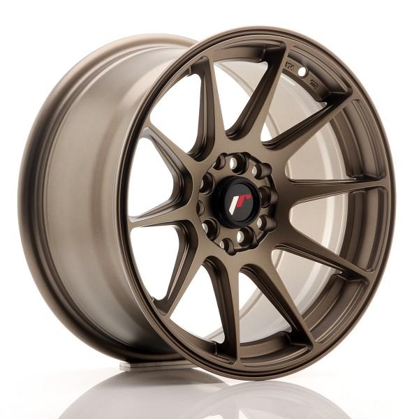 JR Wheels JR11 16x8 ET25 5x100/114 Matt Bronze