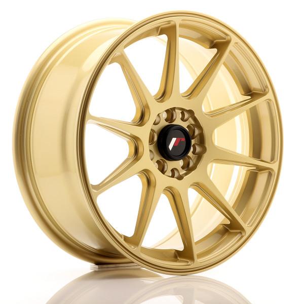 JR Wheels JR11 17x7,25 ET35 4x100/114,3 Gold