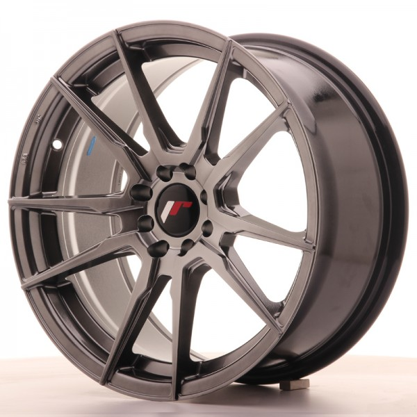 JR Wheels JR21 17x8 ET35 4x100/114 Hyper Black