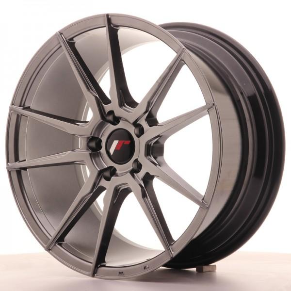 JR Wheels JR21 18x8,5 ET40 5x114,3 Hyper Black