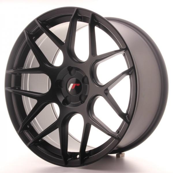 JR Wheels JR18 20x10 ET20-45 5H Blank Matt Black
