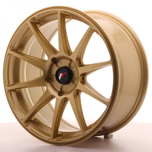 Japan Racing JR11 18x8,5 ET35-40 5H Blank Gold